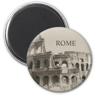 Vintage Colosseum - Roma de gladiadores Imán Redondo 5 Cm