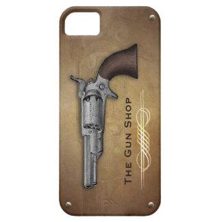 Vintage Colt Revolver Gun Shop Iphone 5 Case