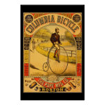 Vintage Columbia Bicycle 36 x 24 Reprint Poster