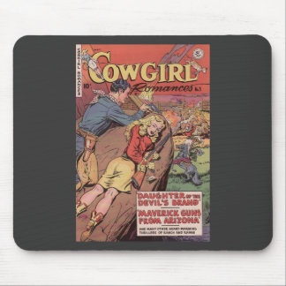 VINTAGE COMIC BOOK COVER ART MOUSE PAD