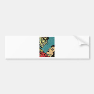vintage comic book villan bumper sticker