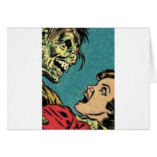 vintage comic book villan card