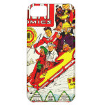 Vintage Comic Characters Cover For iPhone 5C