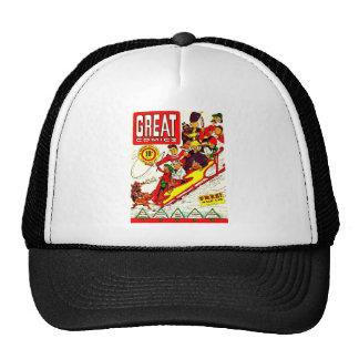 Vintage Comic Characters Mesh Hats