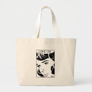 Vintage Comic Large Tote Bag