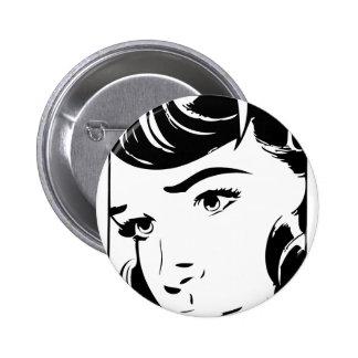 Vintage Comic Pinback Button