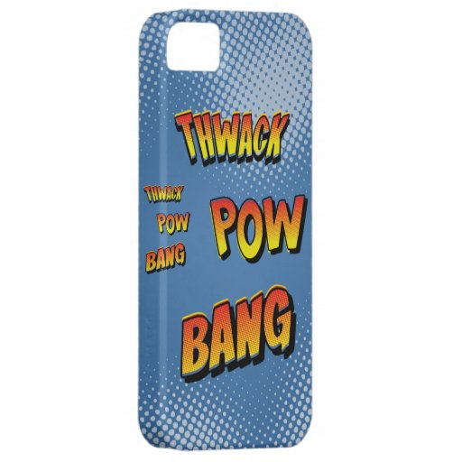Vintage Comic Sound Effect iPhone 5 Case