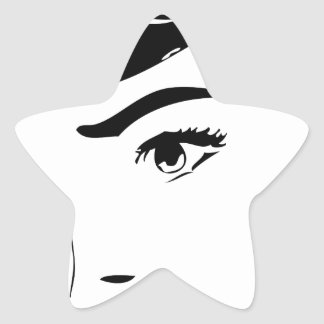 Vintage Comic Star Sticker