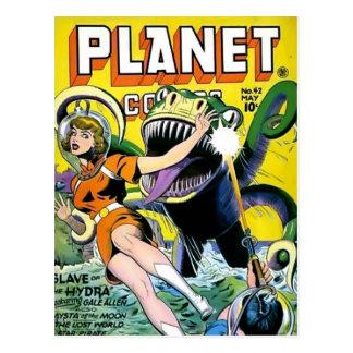 Vintage comic strips - post card