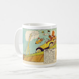 Vintage Comics - Two Braking Systems Required Coffee Mug