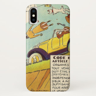 Vintage Comics - Two Braking Systems Required iPhone X Case