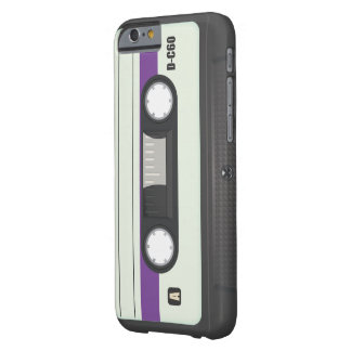 Vintage Compact Cassette tape Barely There iPhone 6 Case