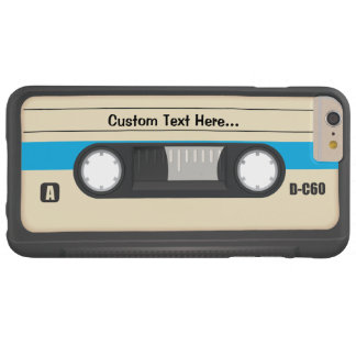 Vintage Compact Cassette tape Barely There iPhone 6 Plus Case