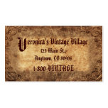 Vintage Company Double-Sided Standard Business Cards (Pack Of 100)