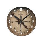 Vintage Compass Decorative Wall Clock