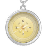 vintage compass effect jewelry