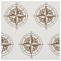 Vintage Compass Fabric