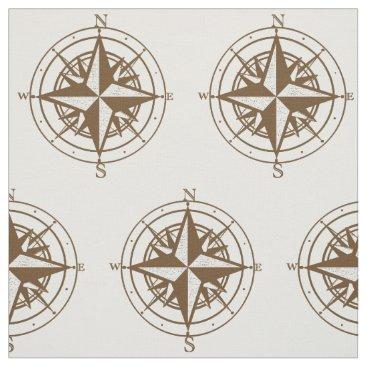ShabzDesigns Vintage Compass Fabric