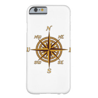 Vintage Compass Rose Barely There iPhone 6 Case