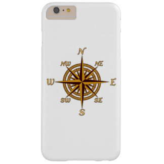 Vintage Compass Rose Barely There iPhone 6 Plus Case