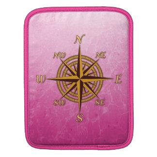 Vintage Compass Rose iPad Sleeve