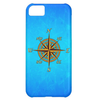 Vintage Compass Rose iPhone 5C Cover