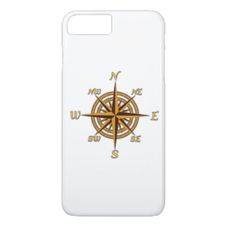 Vintage Compass Rose iPhone 7 Plus Case