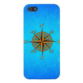 Vintage Compass Rose iPhone SE/5/5s Case