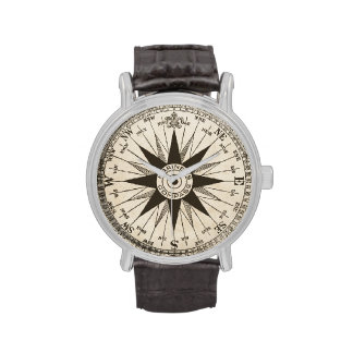 Vintage Compass Rose Watches