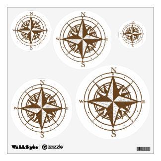 Vintage Compass Wall Decor