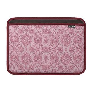 Vintage complejo floral - en rosa funda para macbook air