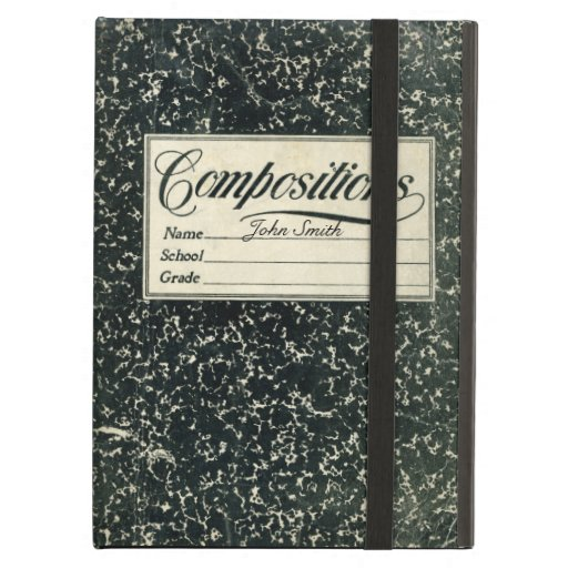 Vintage Book Cover For Ipad Air : Vintage composition book case for ipad air zazzle