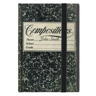 Vintage Composition Book iPad Mini Covers