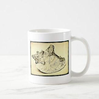 Vintage Conch Shell Coffee Mug
