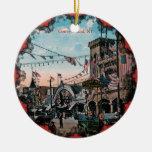 Vintage Coney Island Adorno De Reyes