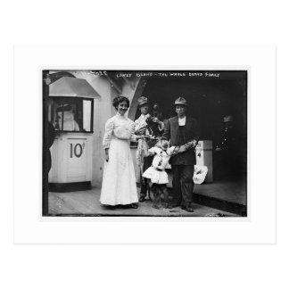 Vintage Coney Island, en el paseo marítimo Tarjeta Postal
