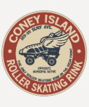 Vintage Coney Island Roller Rink Shirts