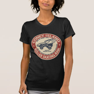 Vintage Coney Island Roller Staking Rink Tee Shirts
