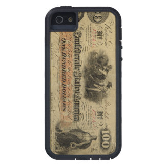 Vintage Confederate Currency iPhone case
