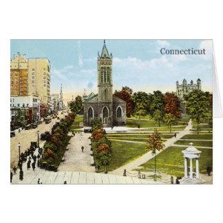 Vintage Connecticut Card