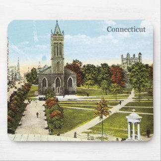 Vintage Connecticut Mouse Pad