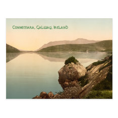 Vintage Connemara, Galway, Ireland Card With Music at Zazzle