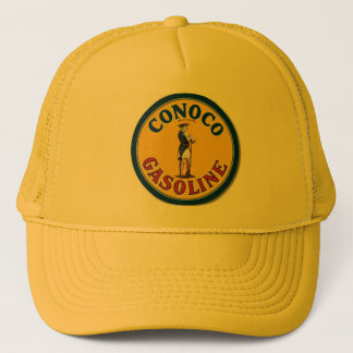 """""""Vintage Conoco Gas Sign"""" Trucker Hat"""