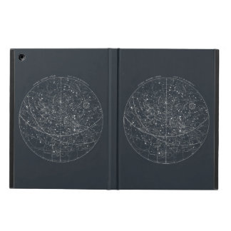 Vintage Constellation Map Cover For iPad Air