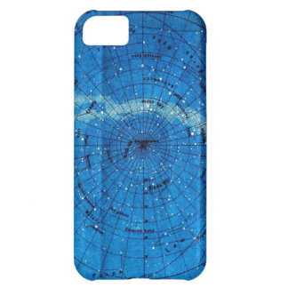 Vintage Constellation Map Cover For iPhone 5C