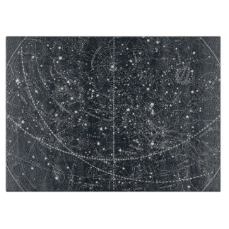 Vintage Constellation Map Cutting Board