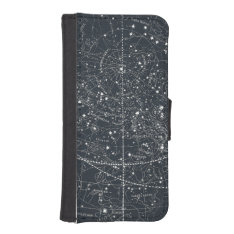 Vintage Constellation Map Iphone Se/5/5s Wallet at Zazzle