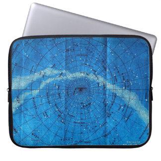 Vintage Constellation Map Laptop Case