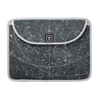 Vintage Constellation Map MacBook Pro Sleeves