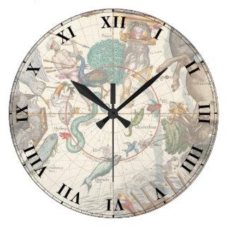 Vintage Constellations Wall Clock
